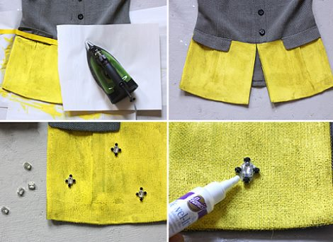 Como reciclar un abrigo viejo