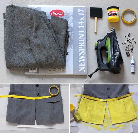 materiales para hacer un abrigo