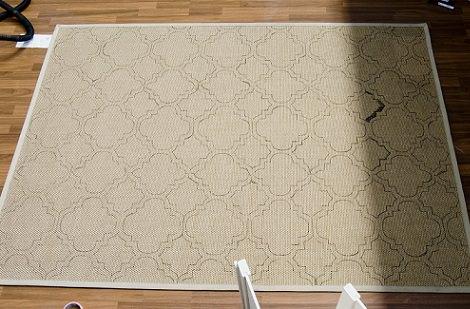 C mo hacer una alfombra casera como la de ikea - Alfombras grandes ikea ...