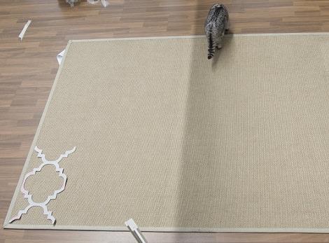C mo hacer una alfombra casera como la de ikea - Alfombra de coco ikea ...
