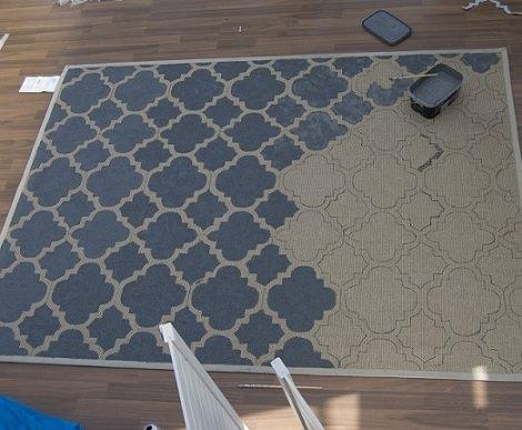 C mo hacer una alfombra casera como la de ikea - Alfombras de cocina ikea ...