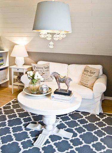 C mo hacer una alfombra casera como la de ikea - Alfombras de salon ikea ...