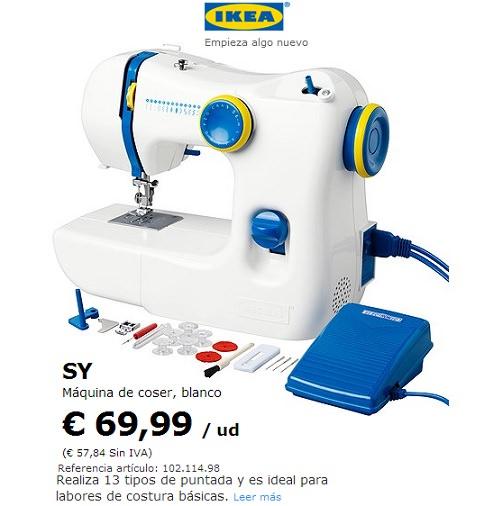 Dos m quinas de coser baratas ideales para novatos lidl e - Mesa para maquina de coser ikea ...
