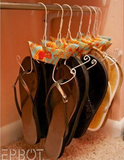 Organizador de zapatos diy por tres duros - Organizador de zapatos casero ...