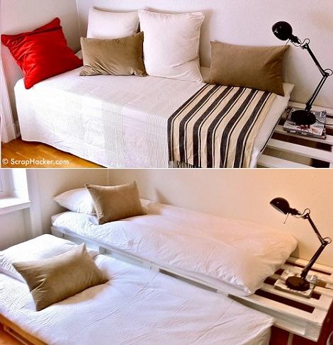 Paso a paso c mo hacer un sof de palets de forma sencilla - Hacer cama con palets ...