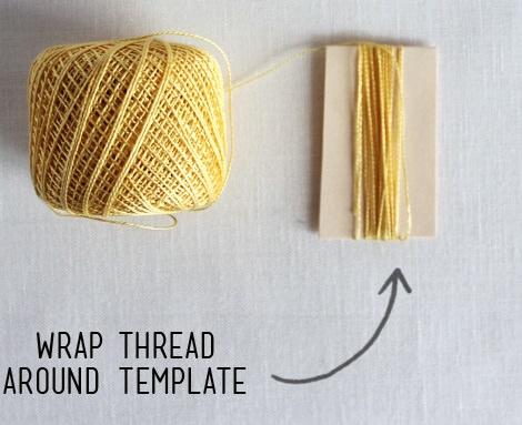 Tutorial para hacer borlas con lana o hilos de colores - Como hacer borlas de hilo ...