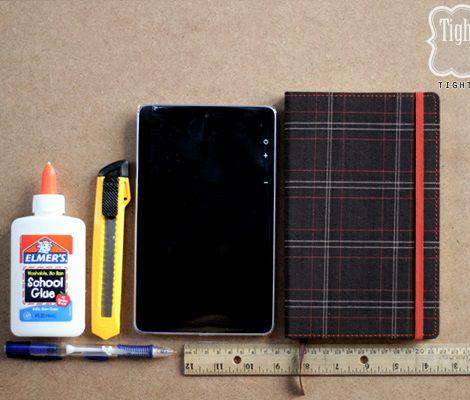 Crea una funda para tu ebook o tablet con una agenda - Fundas para ebook ...