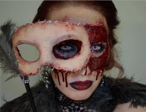 Los mejores maquillajes caseros para halloween 2014 for Pinturas de cara para halloween