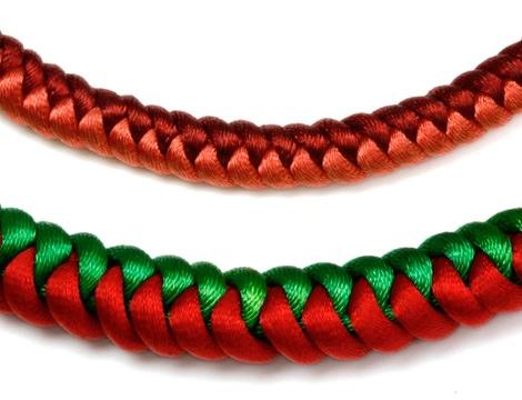 8c85229e89c0 Cómo hacer pulseras con nudo de serpiente