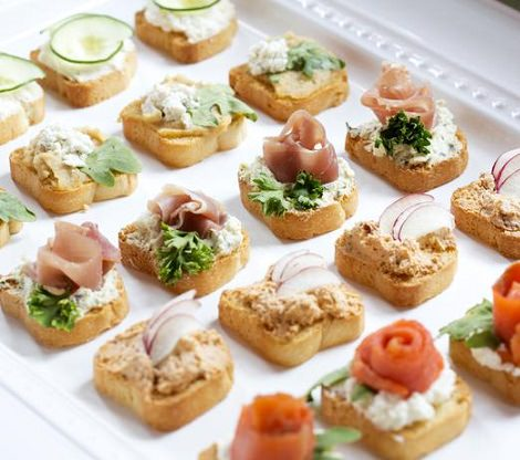 Ideas f ciles para organizar un brunch en casa - Decoracion de canapes ...