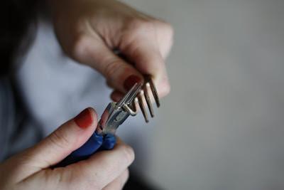 Cmo hacer pulseras con tenedores que ya no usas