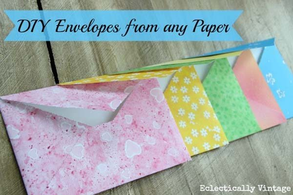 how to make a envelopeout of paper