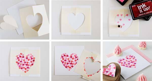 popup heart valentines day card - Cómo hacer una cartas para San Valentn caseras
