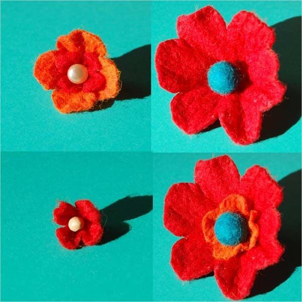 crear-flores-de-fieltro