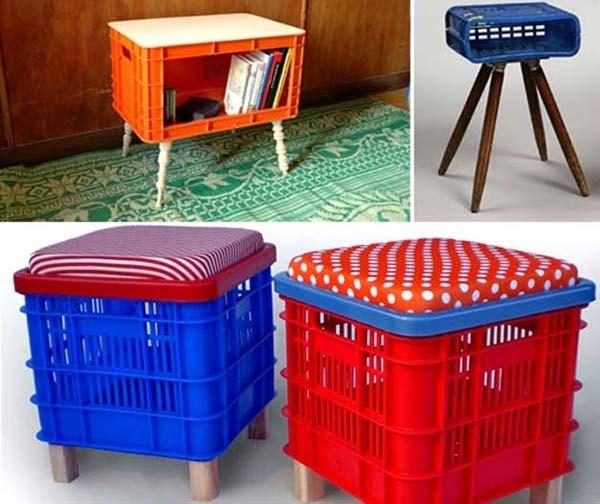 reciclaje-con-cajas-de-plastico