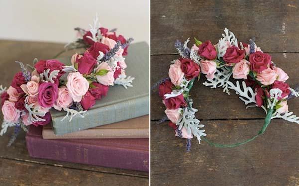 Cmo hacer coronas de flores para el pelo paso a paso