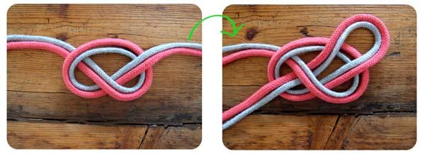 2ddb3622ca24 Cómo hacer un collar con nudo celta multicolor
