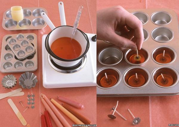 C mo hacer tus propias velas flotantes caseras for Como fabricar velas caseras