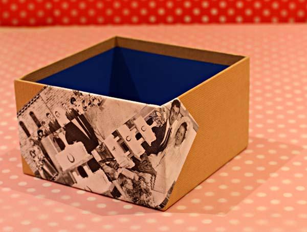 C mo hacer cajas decoradas para regalos en casa - Como decorar una caja de madera ...