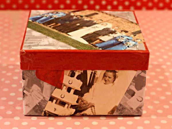 C mo hacer cajas decoradas para regalos en casa for Cajas personalizadas con fotos
