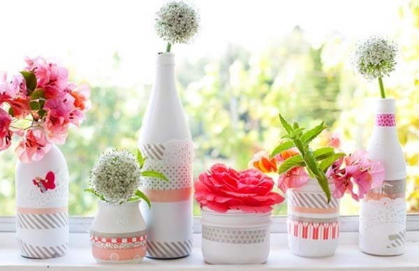 como-decorar-botellas-con-pintura