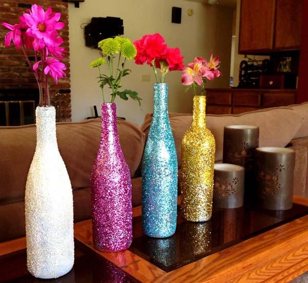 decorar-la-casa-con-botellas-pintadas