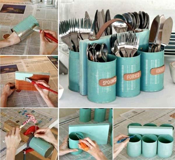 4 manualidades con latas f ciles de hacer - Como decorar reciclando ...