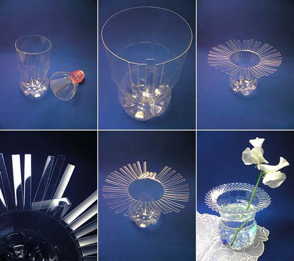 crear-jarron-con-botella-de-plastico