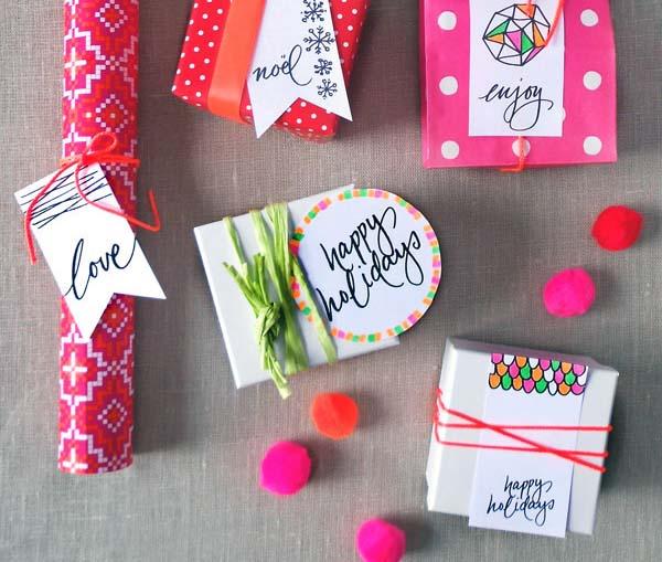 5 etiquetas para regalos para imprimir gratis for Pc in regalo gratis