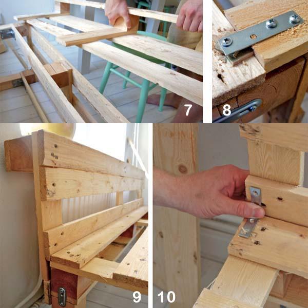 Sillones de palets paso a paso - Como hacer muebles con palet ...