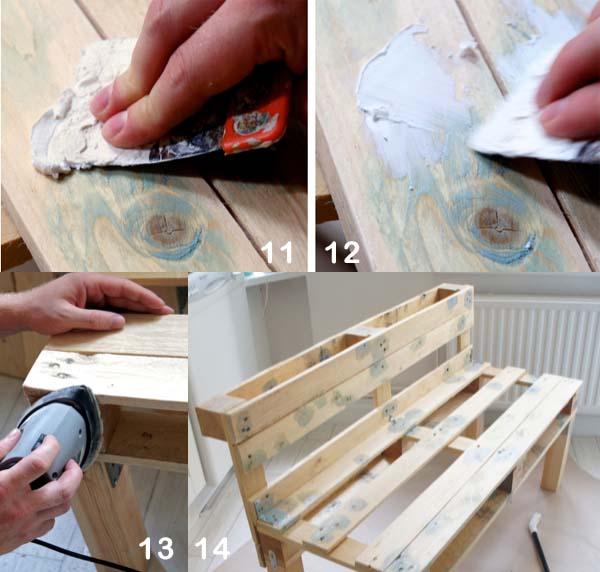 C mo hacer un sof con palets paso a paso - Como hacer un sofa con palets ...