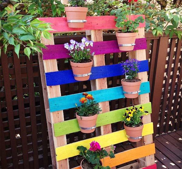 como-hacer-una-jardinera-con-palet