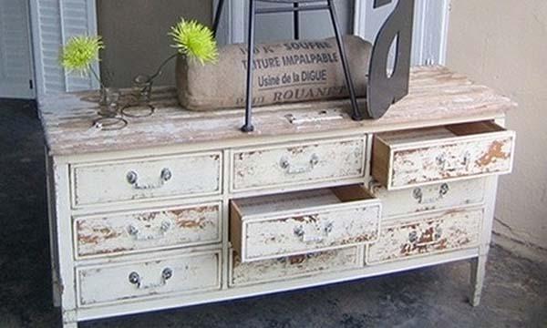C mo envejecer un mueble de madera con vinagre for Como empapelar un mueble