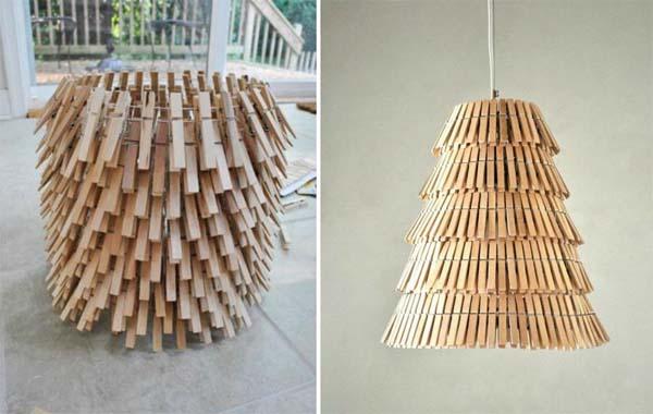 lampara-hecha-con-pinzas