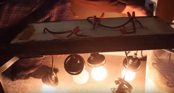 cableando-lampara-de-tarros-de-cristal