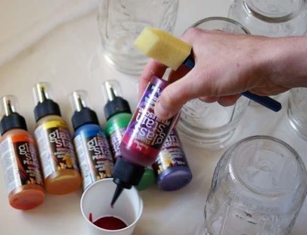 como-hacer-lampara-de-cristales-de-colores – Ideas DIY