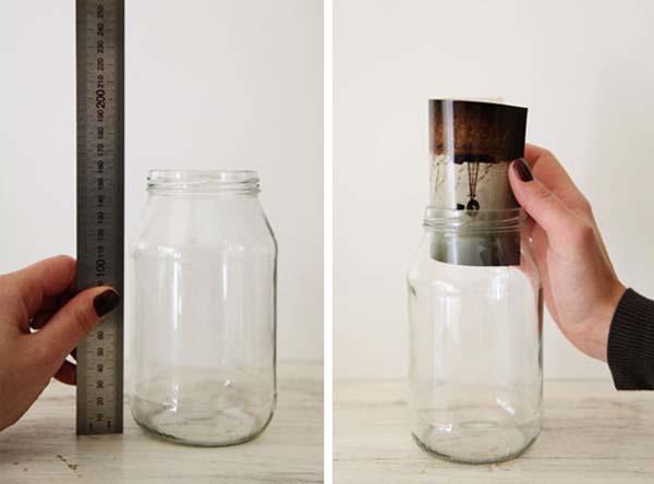 como-hacer-marcos-con-frascos-de-cristal